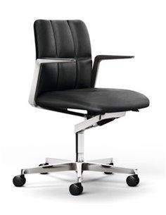 Silla confidente Leadchair Management (respaldo bajo)