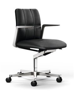 Silla confidente Leadchair Management (respaldo bajo)