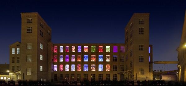 Almacén de los Reyes Magos en el centro Fabra & Coats de Barcelona, del arquitecto Xevi Bayona, recibió el premio de Intervenciones Efímeras. Foto: © diariodesign.com
