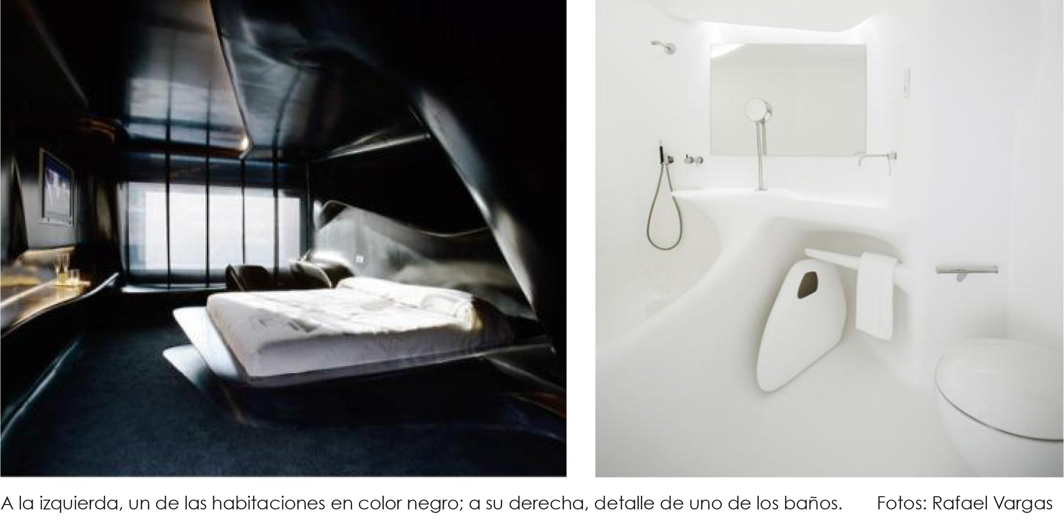 Zaha Hadid Un Hotel De Lujo Con Arquitectura De Vanguardia # Muebles De Zaha Hadid