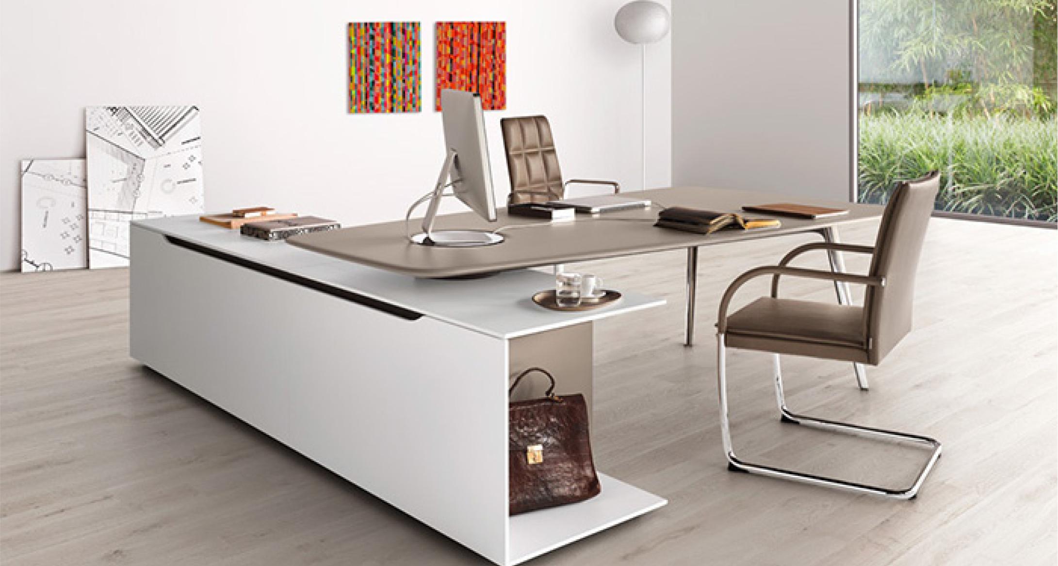 Keypiece communication desk de eoos es un referente en for Muebles de oficina knol