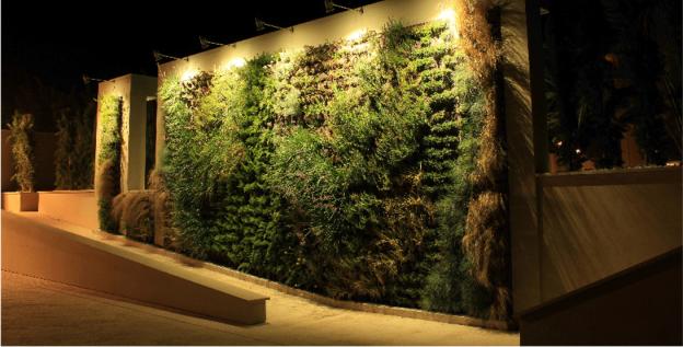 Greenarea surge del deseo de su equipo directivo de for Jardines verticales historia